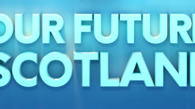 Our Future Scotland Title