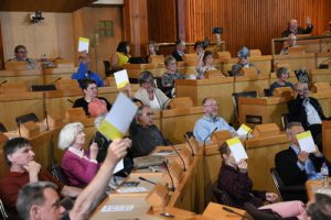 The audience at the Our Future Scotland event