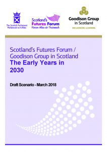 Early Years Scenario front page