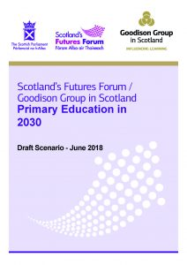 Draft primary education scenario front page