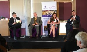 The panel at our Scotland 2030 event on urban Scotland
