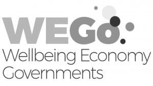 Logo for WEGo - Wellbeing Economy Governments