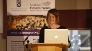 Karine Polwart speaks at our Scotland 2030 Programme launch