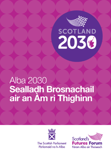 Alba 2030 report front page
