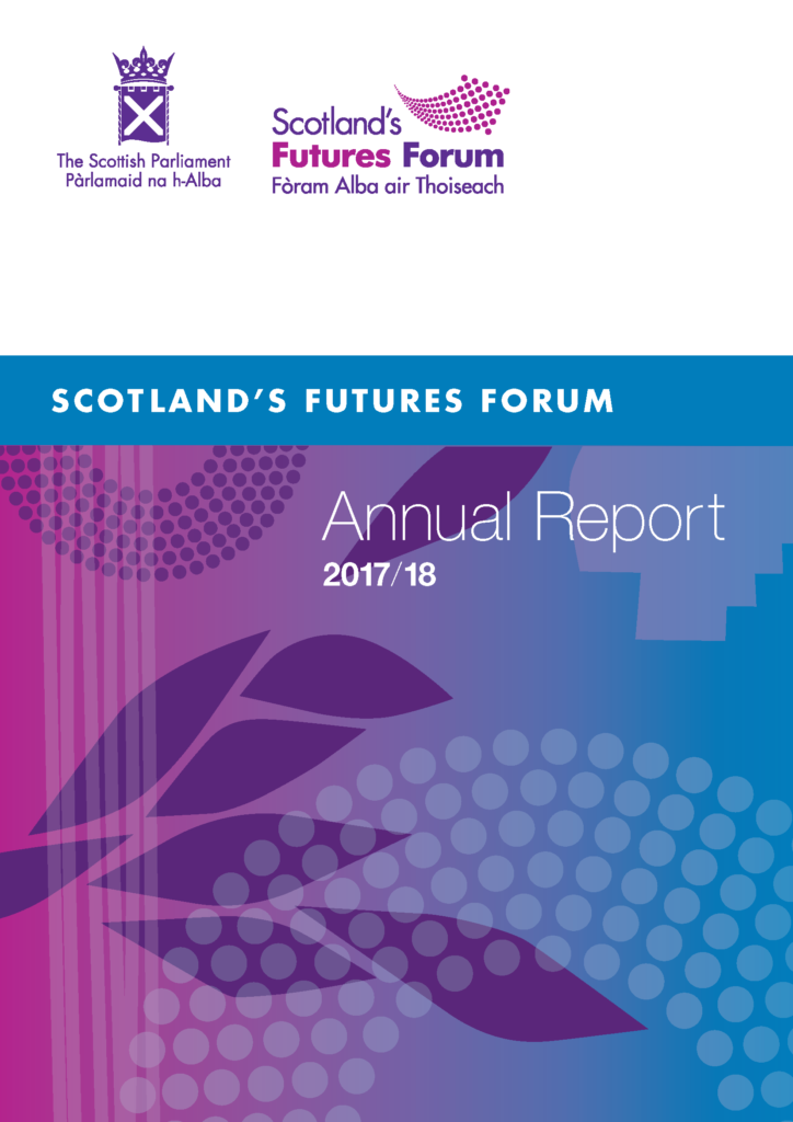 2017-18 Annual Report front page