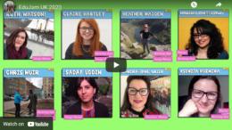 Screenshot from EduJam video