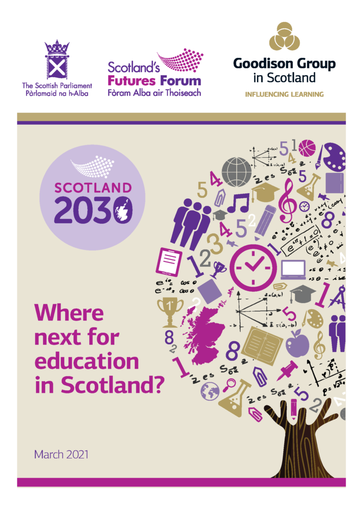 Where next for education in Scotland? Report front page
